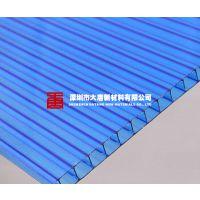 东莞珠海惠州龙岗南山 PC阳光板雨棚 中空板车棚 挡雨棚遮阳棚 T4-12MM厚