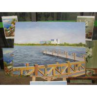 供应张家港墙绘 张家港装饰画 标号JINOO-8V8 免费设计的