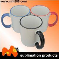 热转印空白耗材 11oz小白杯  陶瓷马克杯  可印照片个性马克杯
