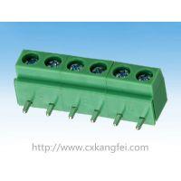 供应DG126R-5.0,90度弯针端子,绿色灰色橙色黑色PCB接线端子