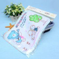 萌宝儿1316隔尿用品 儿童尿垫宝宝隔尿床垫 卡通印花婴儿尿垫小号