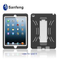iPad6 air2 机器人支架壳 平板保护套壳 iPad6多色手机壳混批