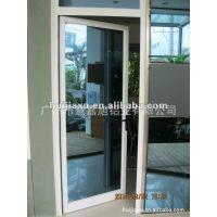 广州出口定制铝合金门窗 保温平开门 广州门窗出口厂