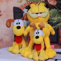 可爱创意加菲猫Garfield公仔欧迪弟Odie毛绒玩具宠物猫狗娃娃礼物