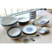 正品厂家现货 雪花釉日式陶瓷餐具套装外贸出口日本日式碗盘碟勺