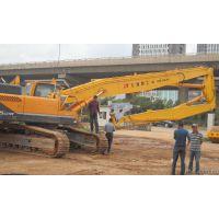 柳工CLG936挖掘机三段式加长臂 加长拆楼臂