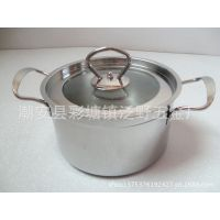 不锈钢欧式钢耳汤锅、组合盖欧式锅