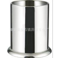 加厚不锈钢筷子筒 精品:筷子桶炊具桶吸管座粗吸管座餐具桶刀叉座