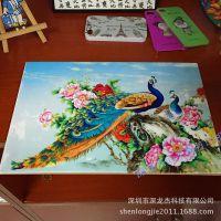 瓷砖浮雕打印机 深龙杰UV平板打印机 促销活动 买一送一