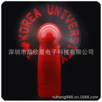 【闪光用品】厂家直销电子礼品 闪字风扇 USB迷你风扇
