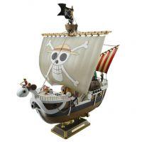 万代 ONE PIECE 海贼王 黄金梅利号海盗船 模型手办拼装版高仿