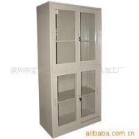 供应明志达深圳文件柜 高档上下玻璃移动门文件柜 移动式文件柜 资料柜