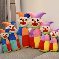 批发创意马戏团小丑毛绒抱枕 家居抱枕儿童礼物