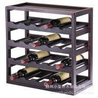 木制红酒架批发 酒吧用具 家庭酒窖多层红酒储藏架 Wine Storage