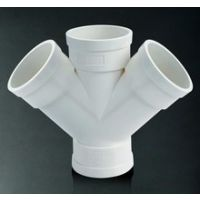 PVC斜四通-排水PVC管件