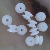 供应秦硕塑料皮带轮 玩具小滚轮 直径7毫米塑胶小滚轮