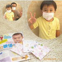 外贸日单 层层印花纱布口罩 层层呵护宝宝健康 纯棉防护儿童口罩