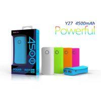 海陆通Y27通用型 移动电源 手机充电宝 4500毫安 特价批发 正品