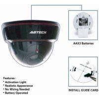 厂家直销新款仿真监视器假摄像头假监控器带LED灯 监控摄像机