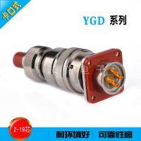 YGD系列多规格型号卡口式圆形大电流电源连接器