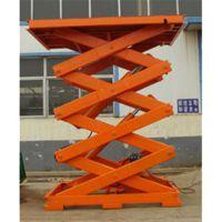 上海剪叉式升降机,济南天龙液压,兰州固定剪叉式升降机