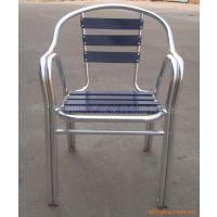 户外家具 双管铝板椅子 餐厅铝椅 双管颜色椅子 YC020