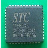 【全新原装STC单片机】STC11F60XE-35I-PLCC44实店经营 正品保证