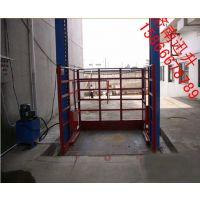 OK工程平台{4米6米到20米移动式升降机 可载1吨2吨3吨到10吨液压货梯}叫响山东厂家