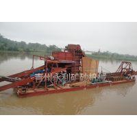 链斗式淘金船的操作方法、链斗式淘金船报价、链斗式淘金船的组成部分