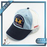 洗水帽厂家供应纯棉水洗帽子 棒球帽洗水帽 IA字母绣花鸭舌帽