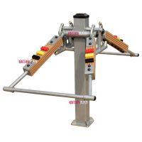 厂家直销沈阳蒸蒸日上品牌安美耐塑木户外健身器材深蹲训练器
