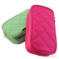厂家定做和供应化妆包、化妆袋、笔袋可以LOGO