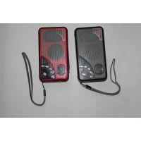 JS-5481 德生A3收音机 插卡收音机 插卡音箱