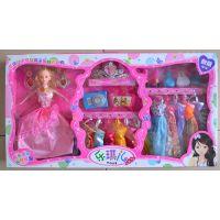 厂家直销 芭比娃娃 时尚芭比套装 批发玩具 芭比娃娃专卖