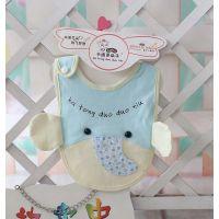 2014新款多朵牛品牌婴儿口水巾婴儿小象围嘴A8008