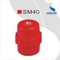低价直销 红色绝缘子SM40 仿进口绝缘柱 树脂材料绝缘子