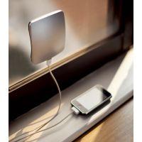 吸窗式太阳能移动电源 吸窗式太阳能充电宝 贴窗式太阳能应急充电器