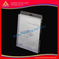 供应充电器电池胶盒 pvc透明折盒 柯式印刷包装盒