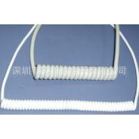 供应PVC PU弹簧线 弹弓线 螺旋线 曲线(图)