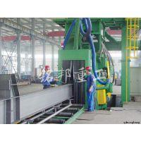 【厂家直销】H型钢抛丸清理机 型材钢结构件表面除锈抛光专用设备