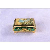供应金属珠宝盒 俄罗斯工艺品 大号欧式珠宝盒 合金首饰盒