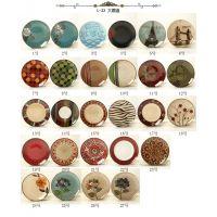 外贸库存陶瓷手绘圆盘 方盘 西餐盘 创意原单出口 家居装饰品挂盘