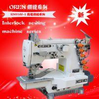 自动剪线装置 超高速平台式绷缝机 智能模板机 服装设备缝纫机现货