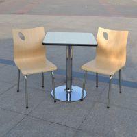 厂家直销快餐桌椅肯德基餐桌椅分体餐厅电镀支架快餐桌组合批发