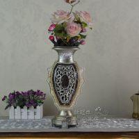 欧式现代时尚家居装饰马赛克花瓶摆件树脂工艺品摆件乔迁结婚礼品