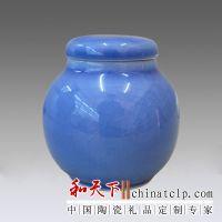 青花瓷茶叶罐 瓷器茶叶罐
