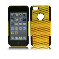 iphone4s编织纹网壳 苹果4网眼手机套 硅胶保护套 散热保护套