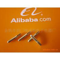 供应直径4MM圆型端子公母端子 防水端子接插件 接线端子 支持定制