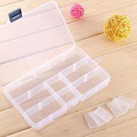 15格可拆分药盒 便携化妆盒透明首饰收纳盒韩国塑料饰品盒首饰盒