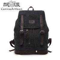 厂家直销 帆布派 韩版时尚休闲旅行包背包 学生书包帆布包 T01-11